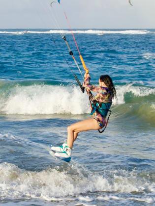 Kite-Surfen, Dominikanische Republik © Christoph Karrasch