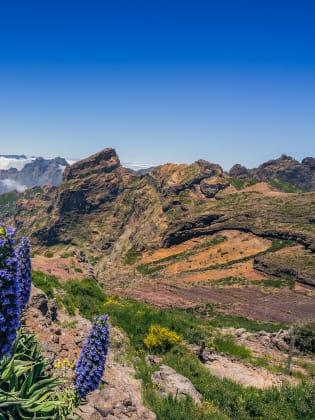 Vulkanlandschaft auf Madeira, Portugal © VisitMadeira