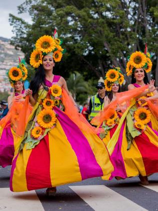 Blumenfest Madeira, Portugal © VisitMadeira