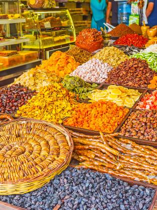 Markt bei Manavgat, Türkische Riviera