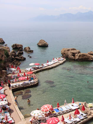 Mermerli Beach, Antalya © Thomas Zwicker