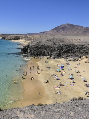 Playa de Papagayo, Lanzarote © Joachim Negwer