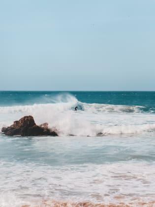 Praia do Tonel. Sagres, Portugal