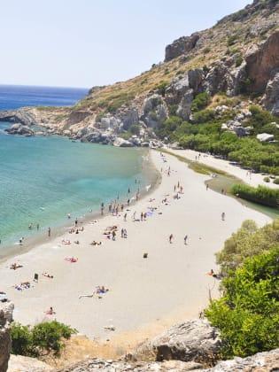 Preveli Beach, Kreta, Griechenland © Henry Czauderna