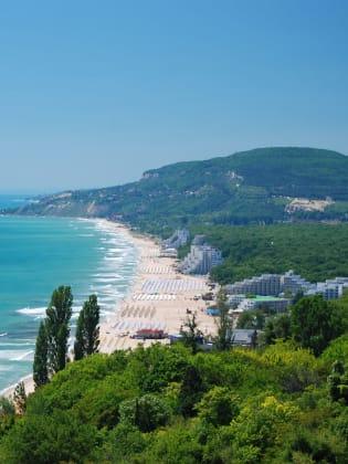 Strand von Albena, Bulgarien © Atanas