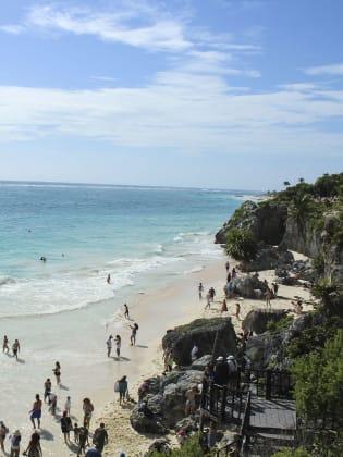 Tulum Beach in Mexiko © Andreas Stöhr