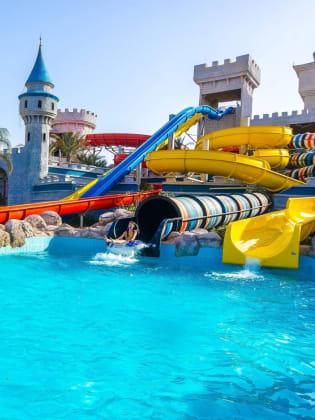 Wasserpark des Serenity Fun City bei Hurghada © Hotelier, August 2015