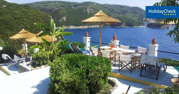 hotelbewertungen villa bouganville paleokastritsa. Black Bedroom Furniture Sets. Home Design Ideas
