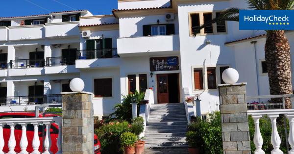 hotelbewertungen hotel belle helene beach in agios. Black Bedroom Furniture Sets. Home Design Ideas