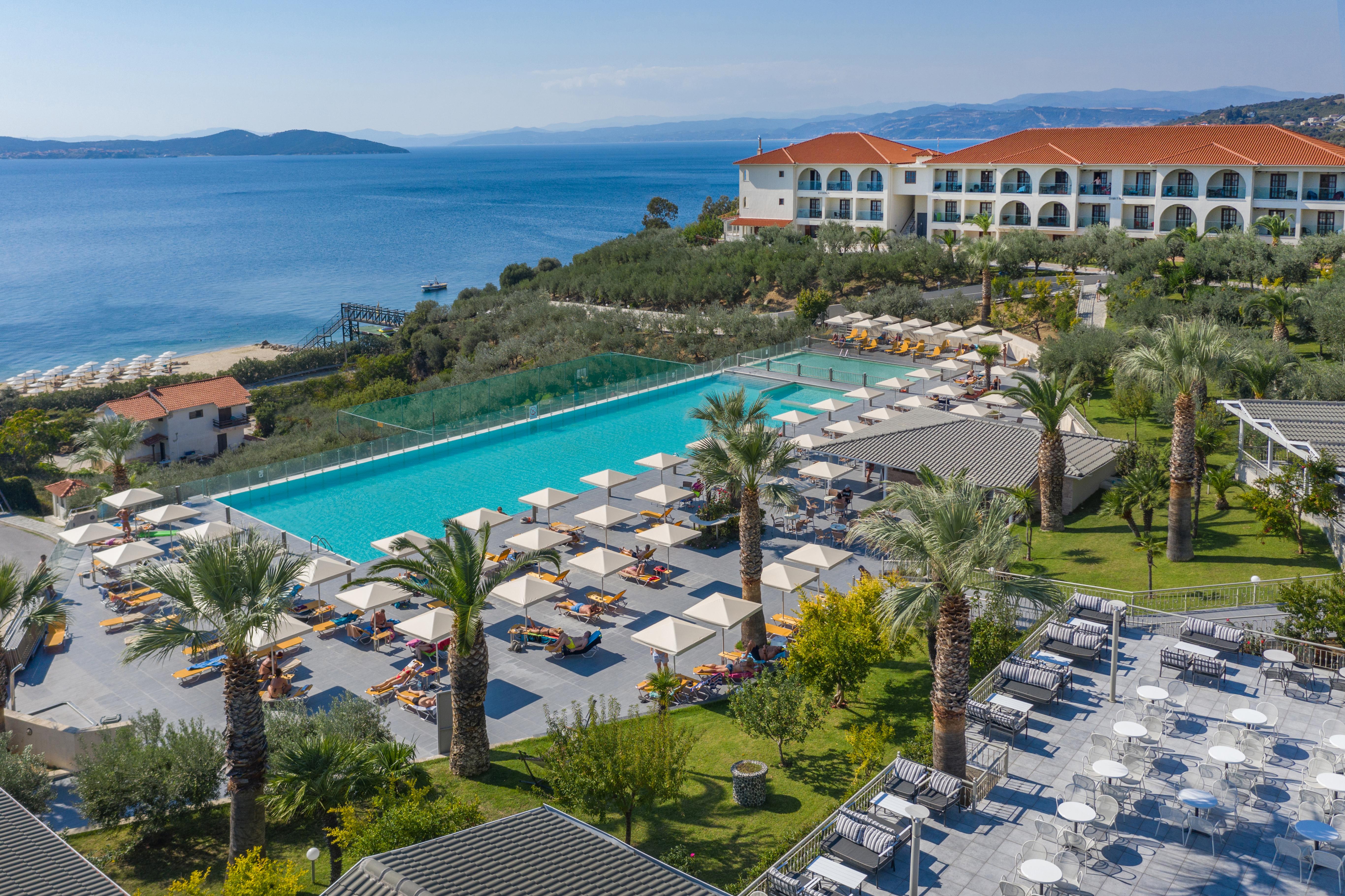 Akrathos Beach Hotel  Ouranoupoli Halkidiki  Home