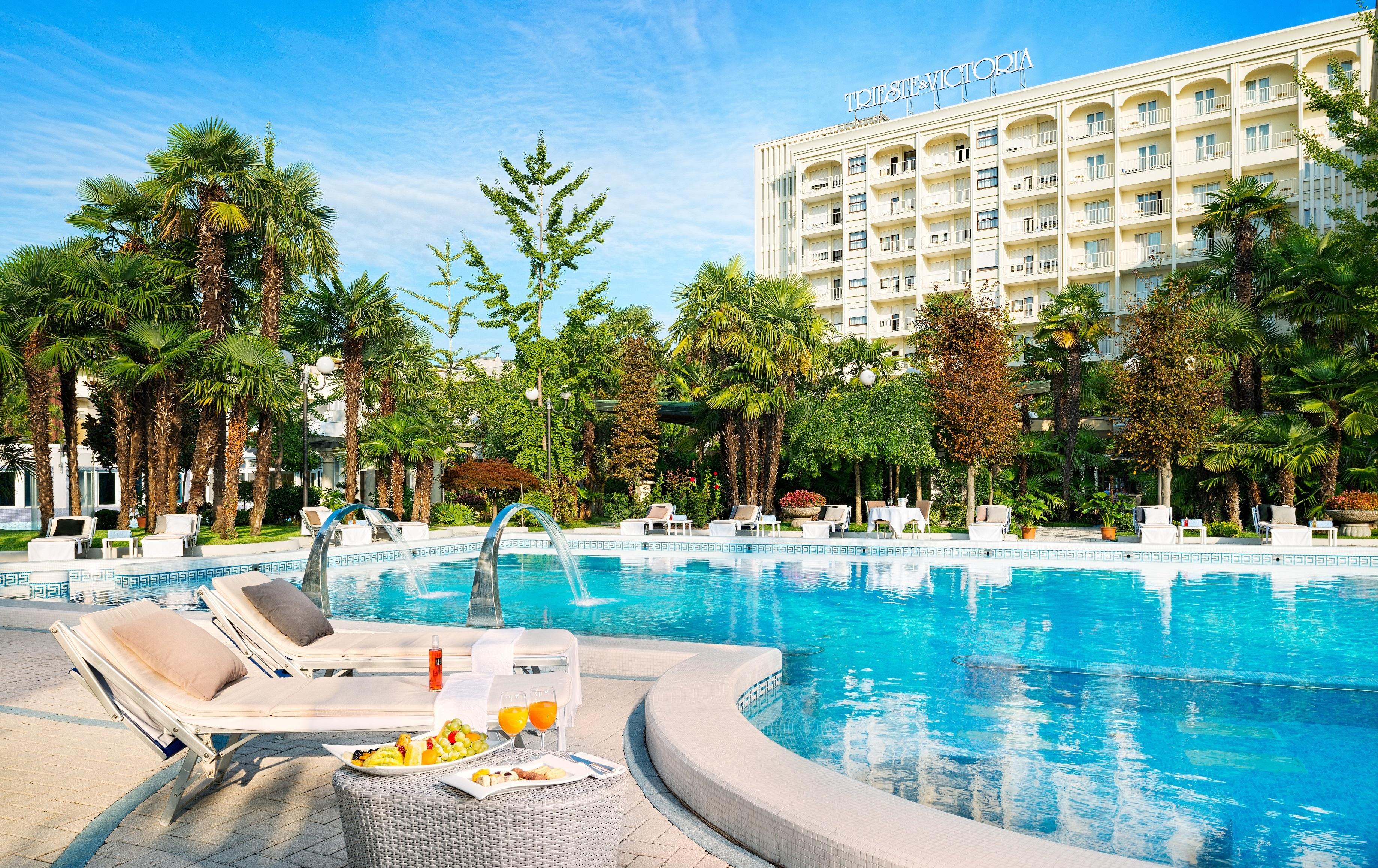 Hotel Trieste And Victoria Abano Terme Italien