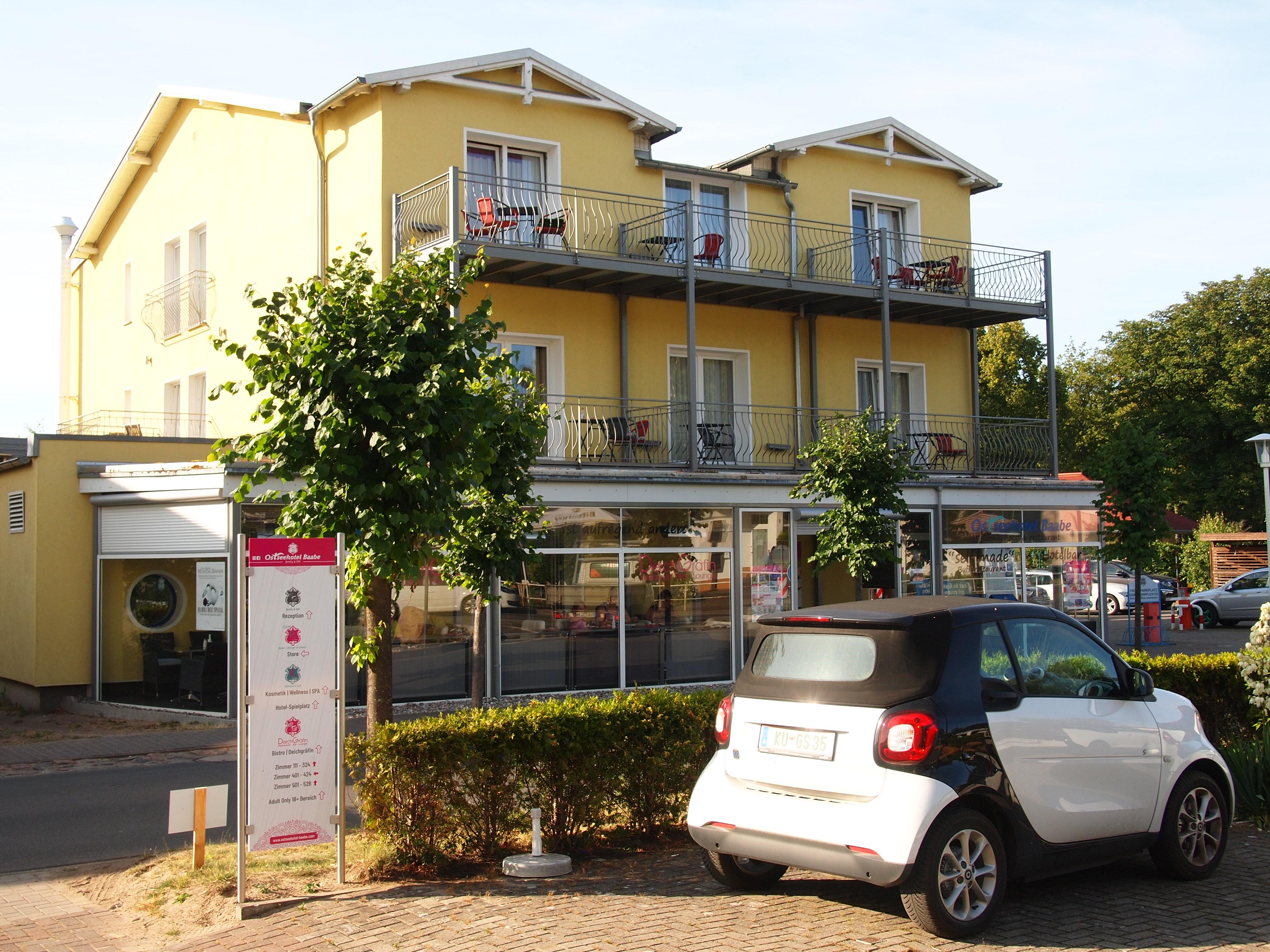 Ostseehotel Baabe Hotel Restaurant Baabe Ostseebad