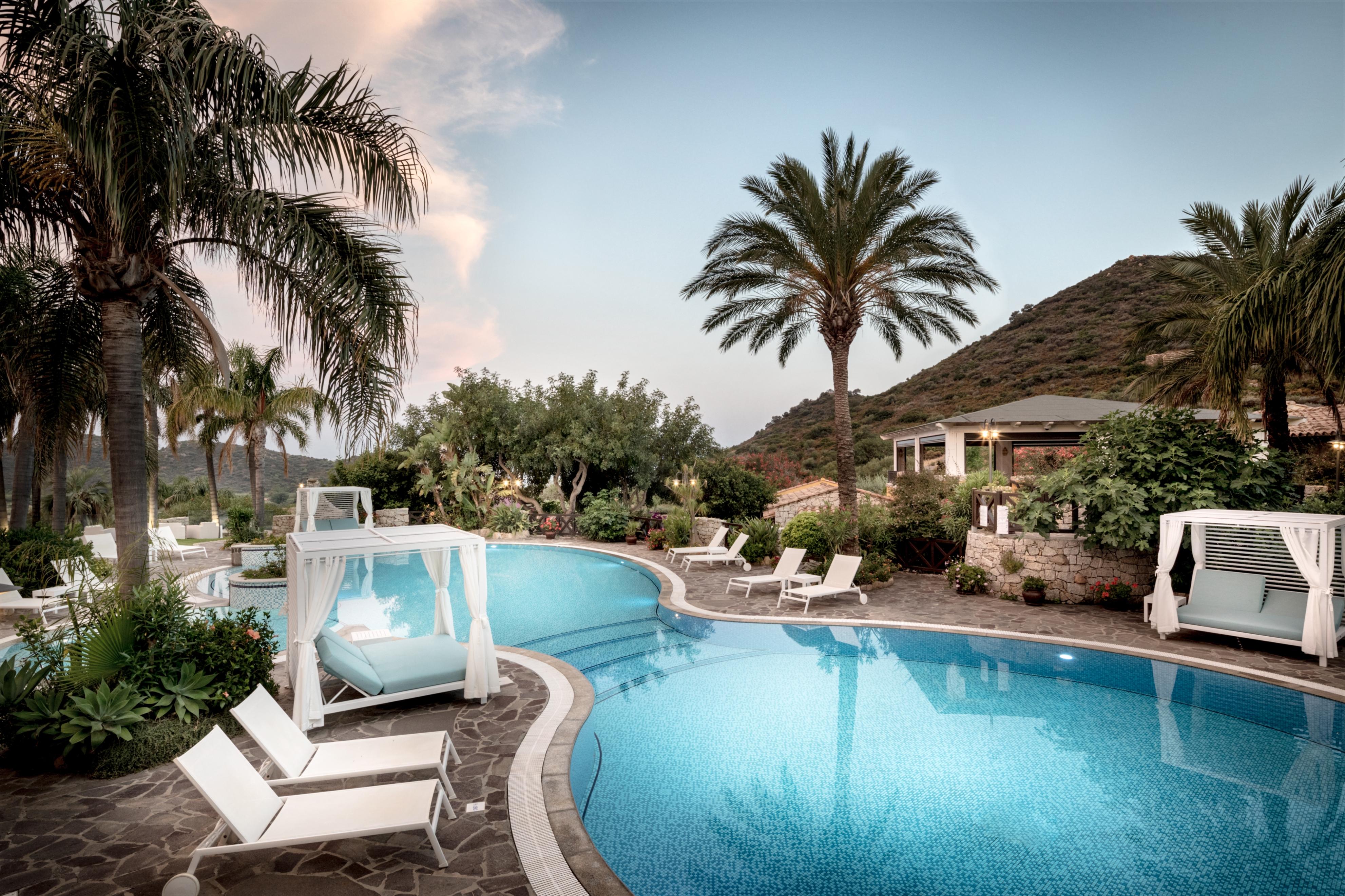 Hotel Villa Sardinien
