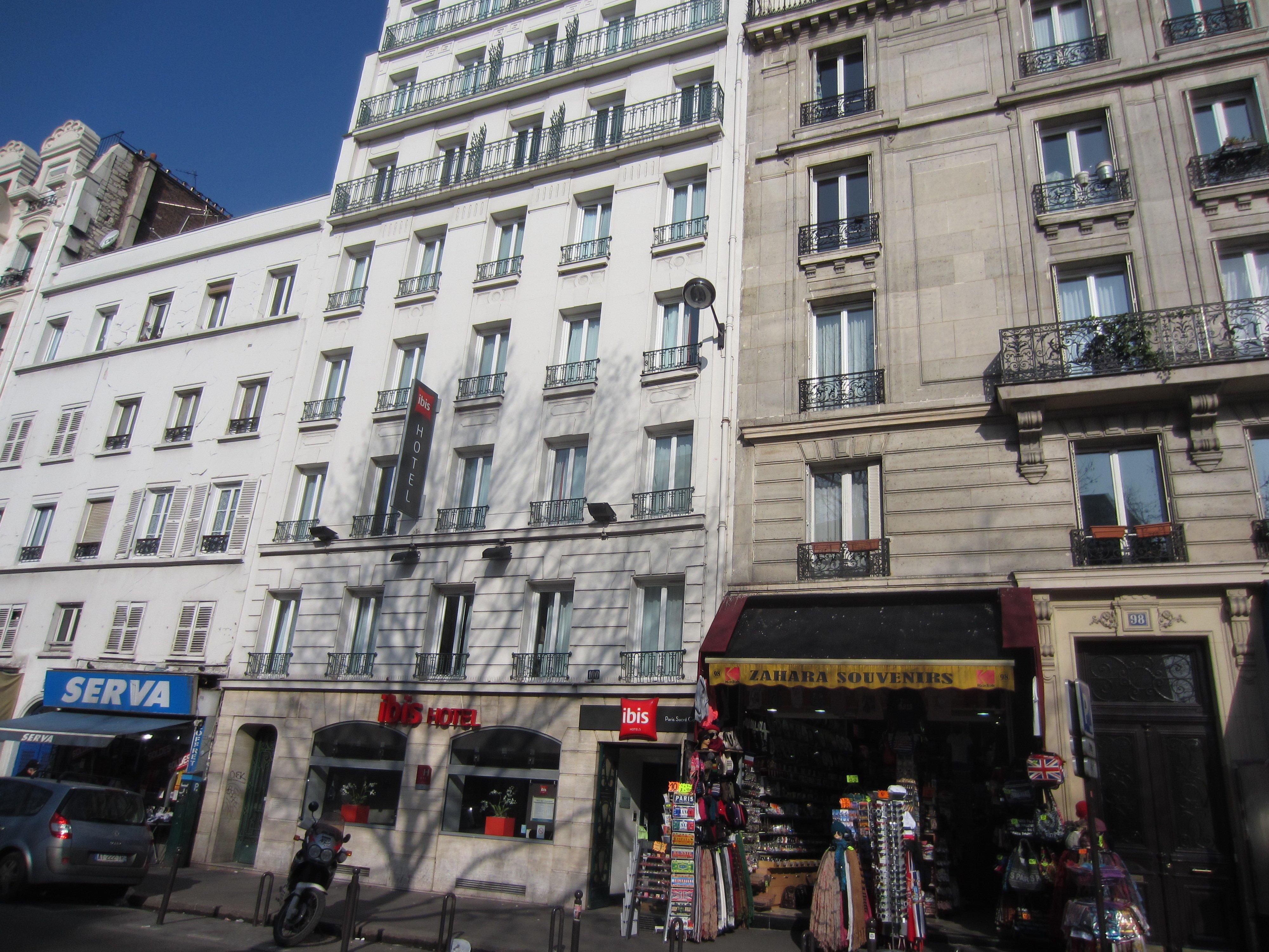 Hotel ibis paris sacr coeur 18 me in paris holidaycheck for Frankreich hotel paris