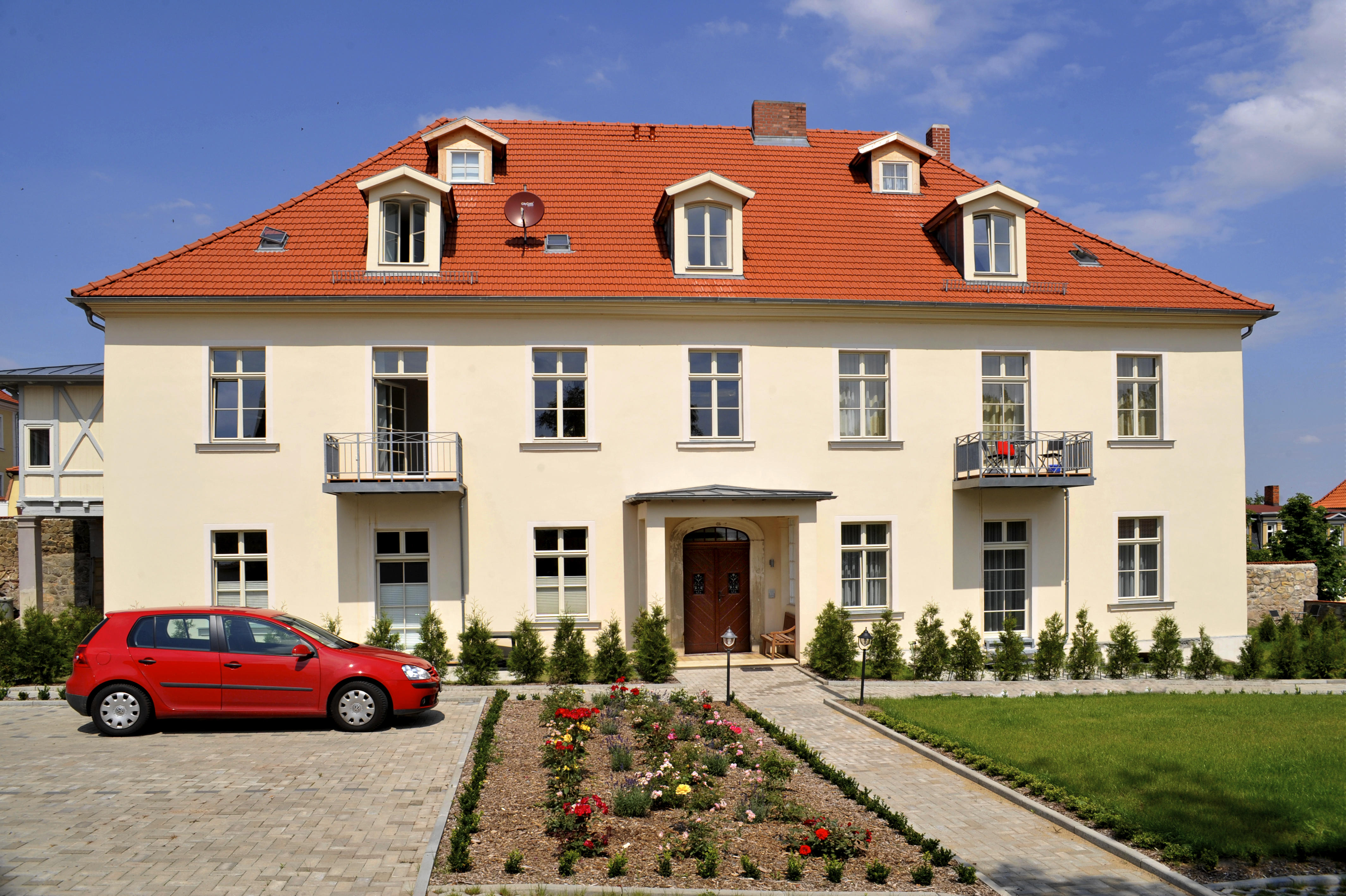 appartements residenz jacobs in ballenstedt holidaycheck sachsen anhalt deutschland. Black Bedroom Furniture Sets. Home Design Ideas