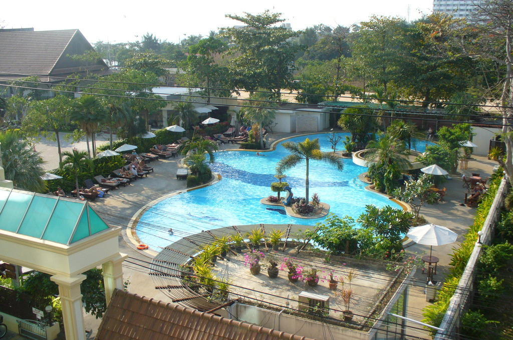 Hotel jomtien garden in jomtien o holidaycheck pattaya for Katzennetz balkon mit hotel pattaya garden thailand