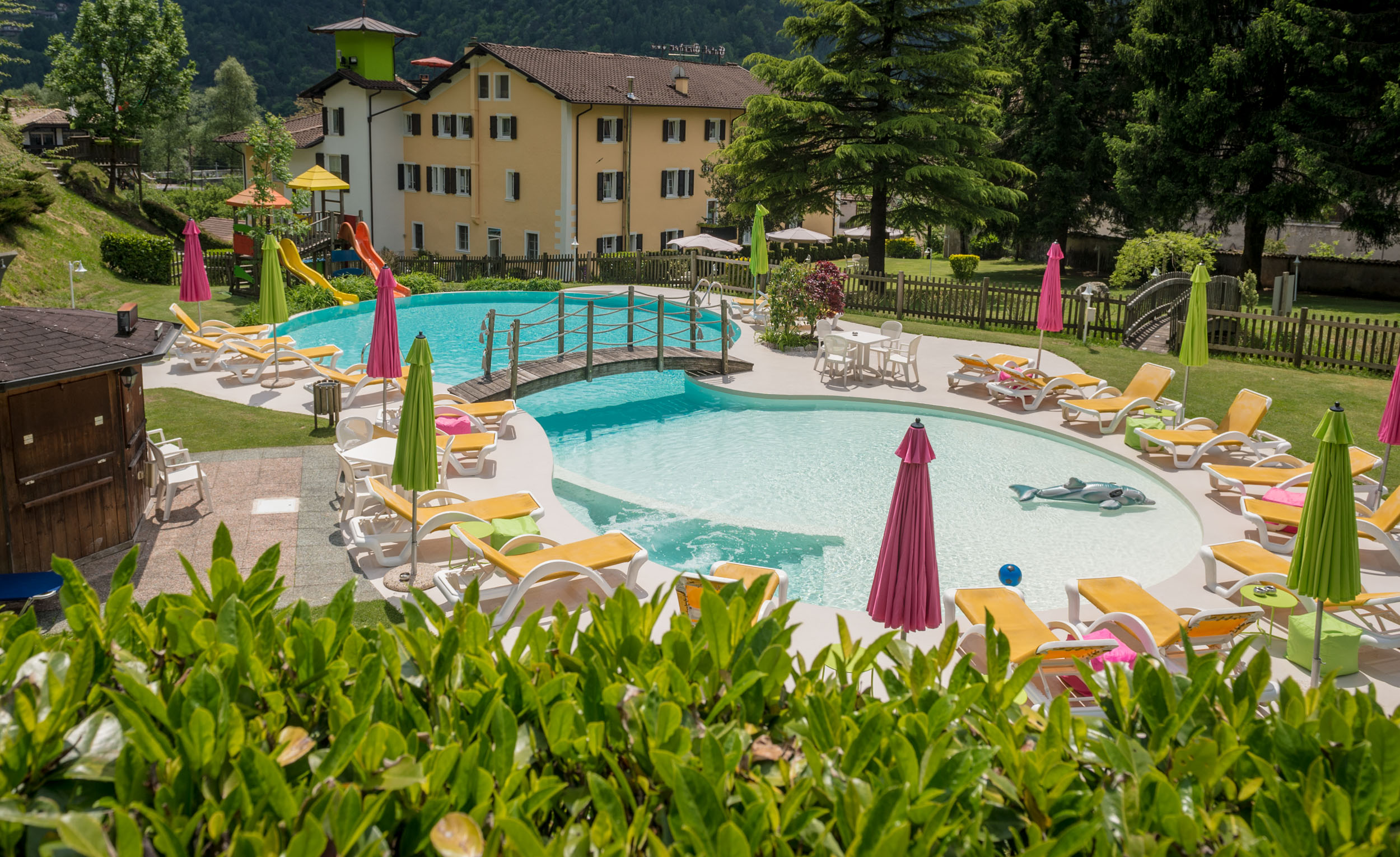 Hotel Garden Ledrosee Italien