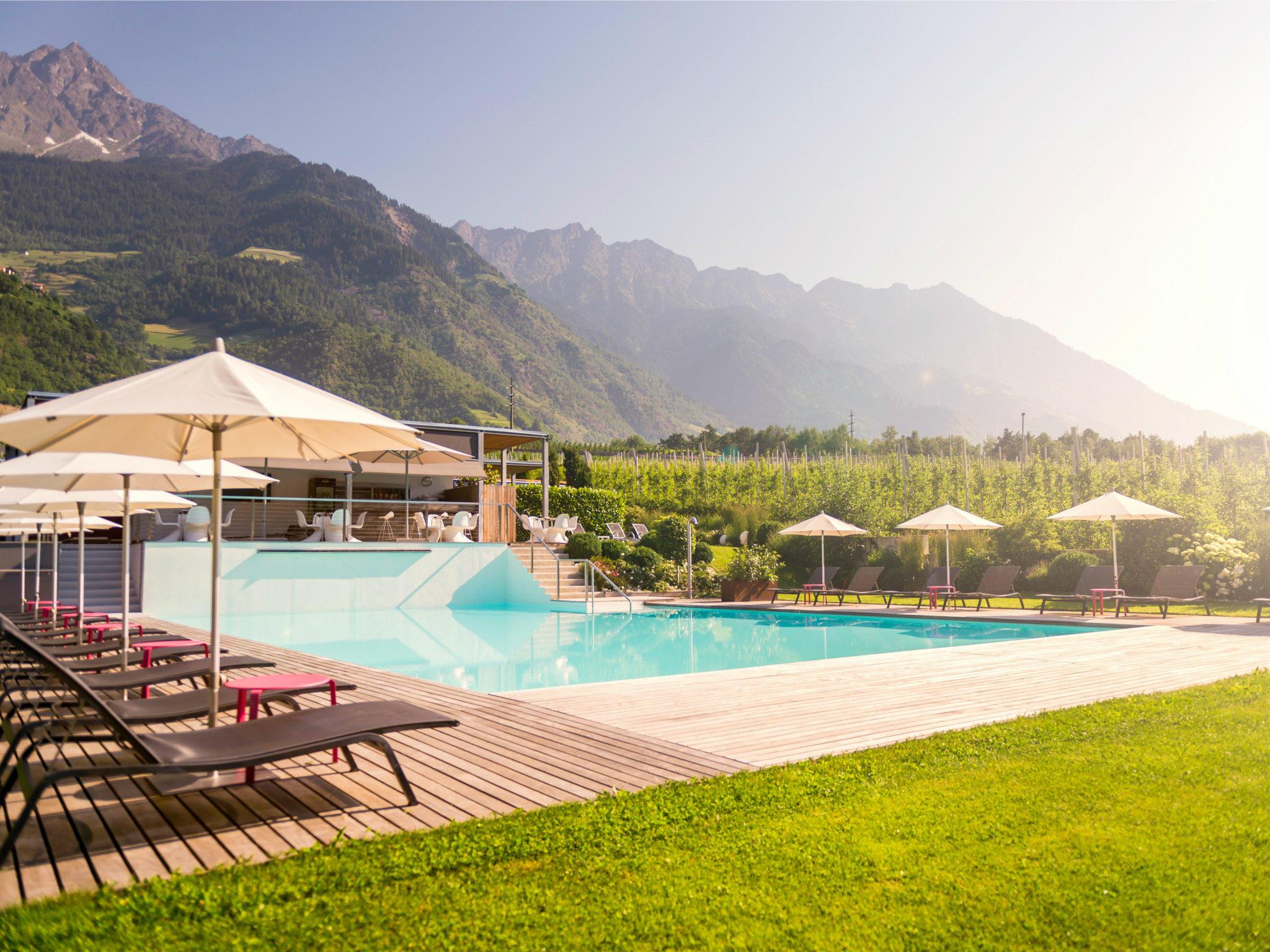Design hotel tyrol in parcines partschins holidaycheck for Designhotel italien