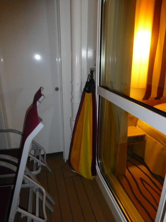 Hangematte Auf Dem Balkon Aidaperla Holidaycheck