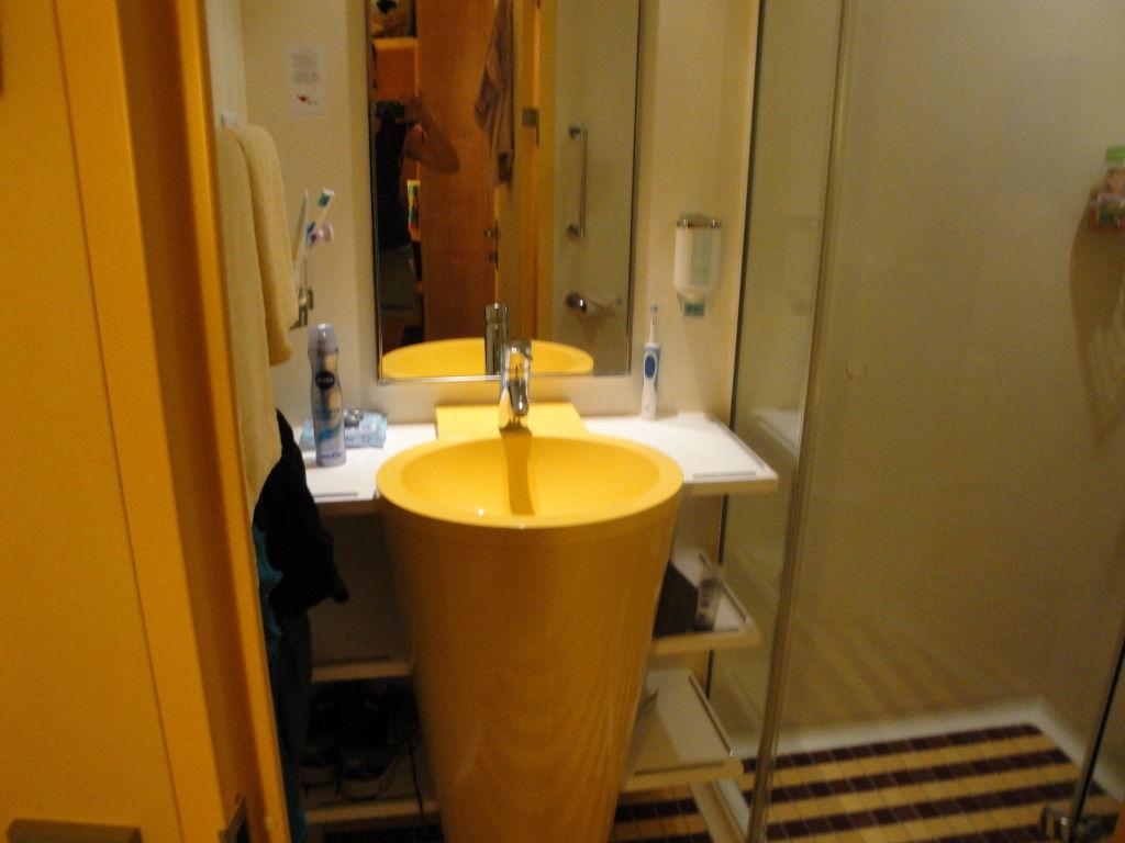Badezimmer klein aber fein\