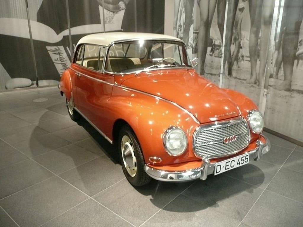 Bild sch nes altes auto zu audi museum museum mobile for Mobel in ingolstadt