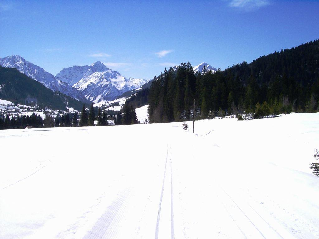 Bild Schnee Berge Skilanglauf Zu Vorarlberg In Vorarlberg