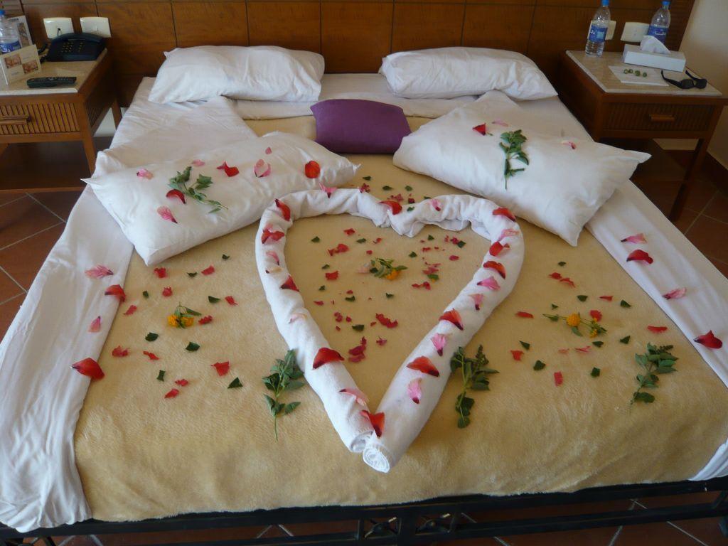 bild zimmer f r verliebte zu hotel sea garden resort in nabq bay. Black Bedroom Furniture Sets. Home Design Ideas