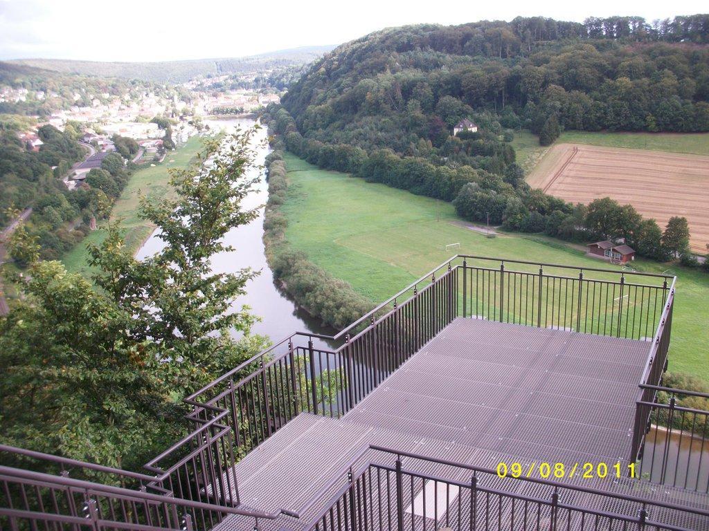 Weser Sky-Walk Bilder Sonstiges Landschaftmotiv Weser Skywalk