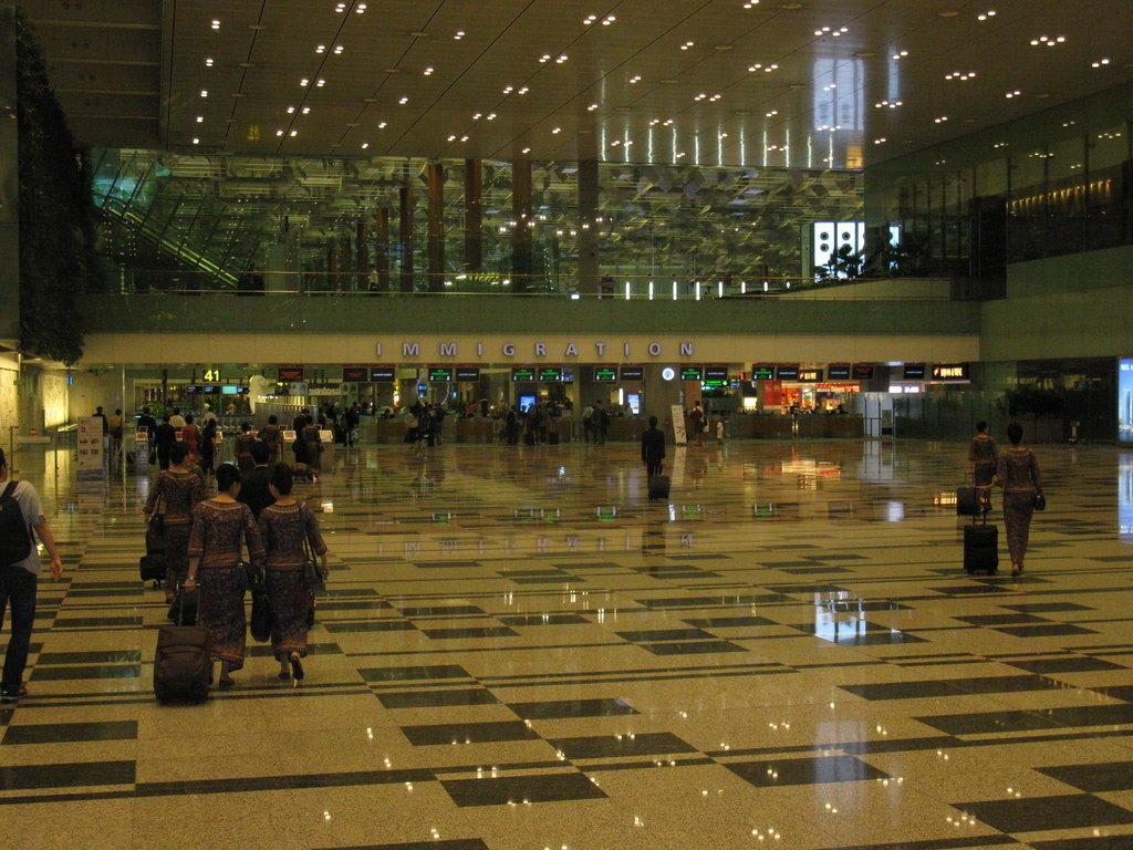 Ankunft Bilder Sonstige Gebäude Flughafen Singapur Changi (SIN)