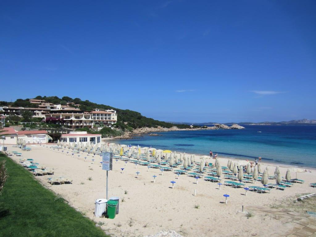 Strand in Baja Sardinia  Bilder Strand/Küste/Hafen Baja Sardinia