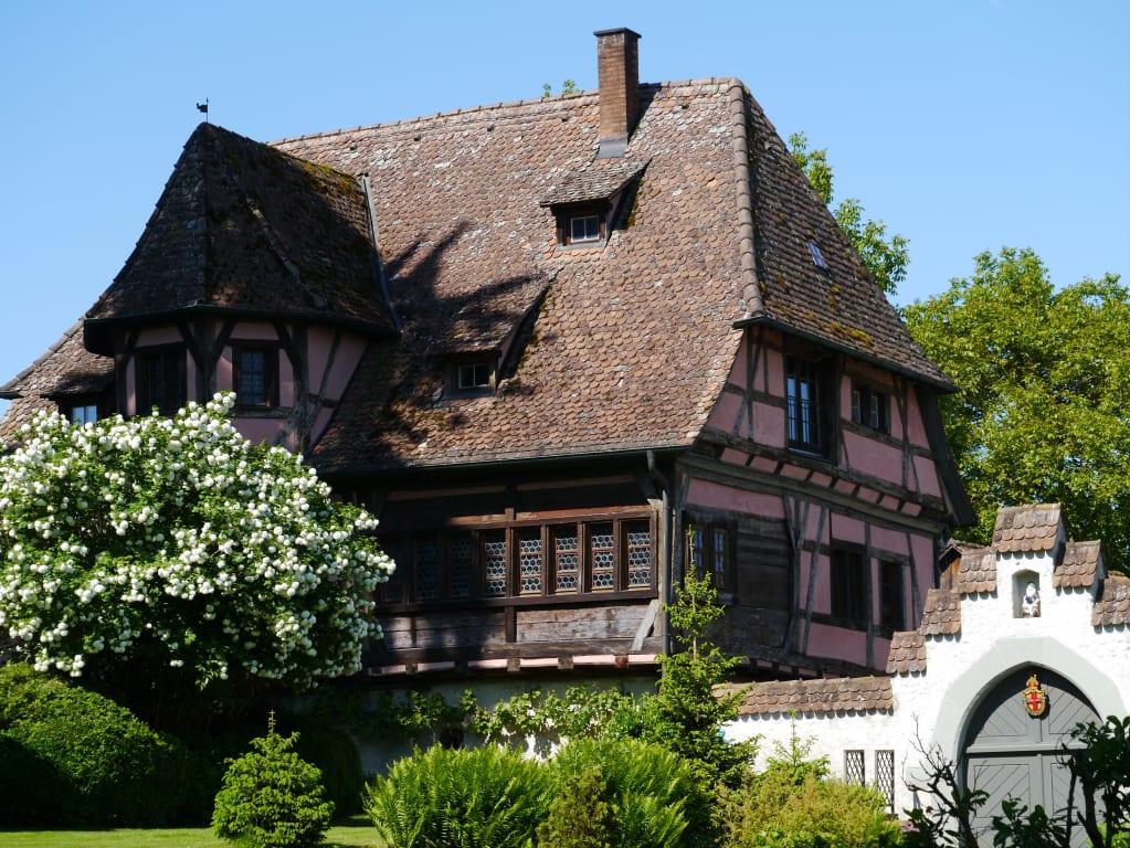 Schöne Häuser Gegenüber Münster