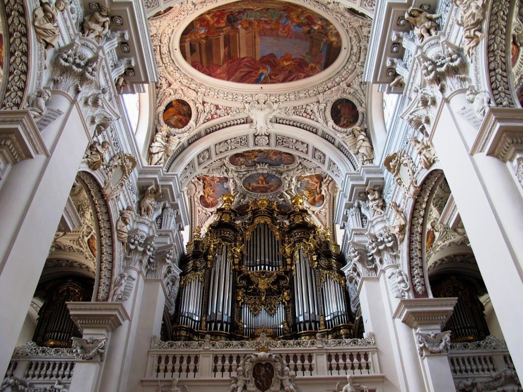 Bild Passau Dom Sankt Stephan Domorgel Zu Dom St Stephan In