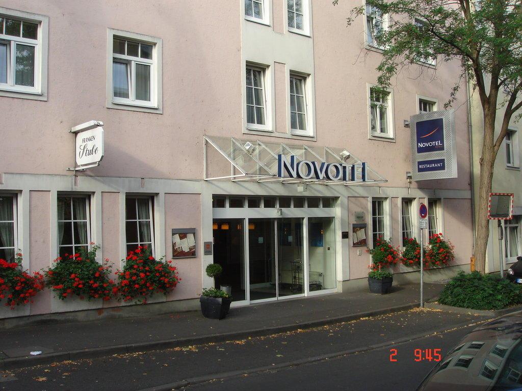 Bild au enansicht zu hotel novotel w rzburg in w rzburg for Hotels in wuerzburg