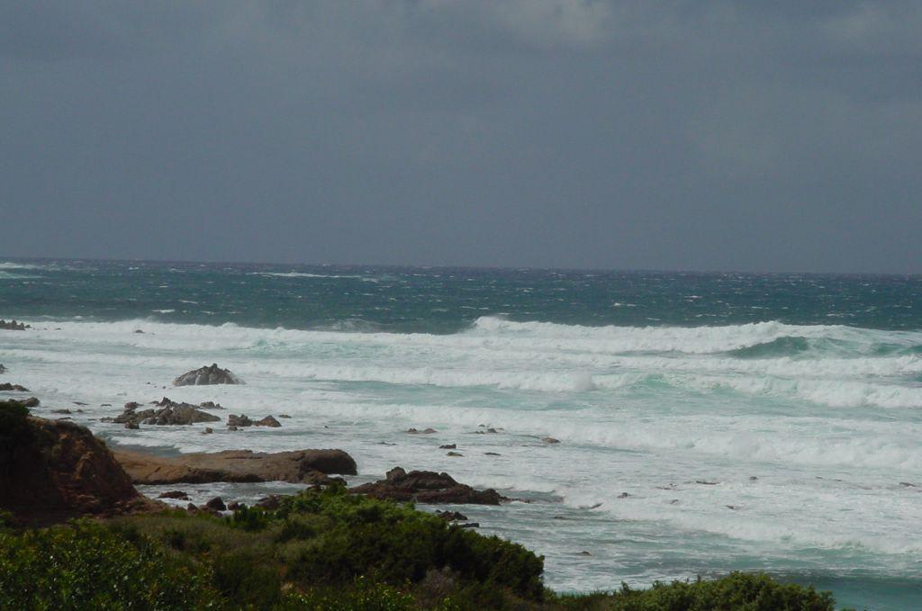 Bild Coole Wellen Zu Strand Rena Bianca In Santa Teresa Gallura