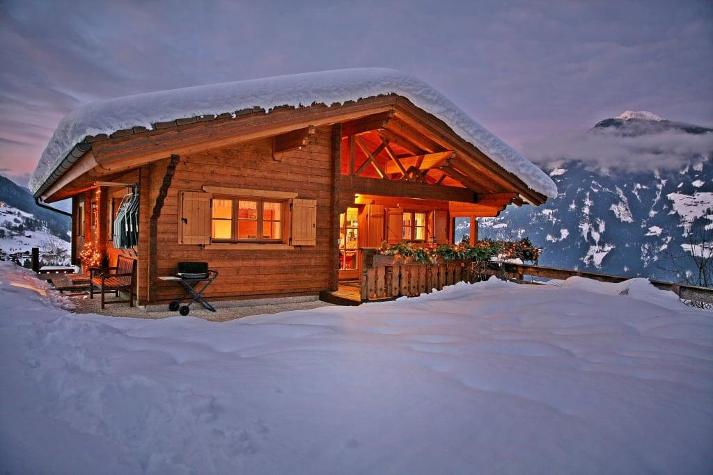 bild bergh tte alpenrose zu bergchalet alpenrose in kaltenbach. Black Bedroom Furniture Sets. Home Design Ideas