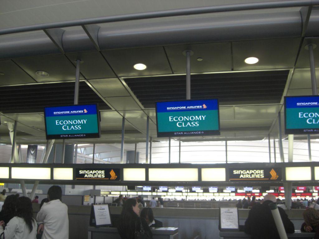 Check-in Schalter Bilder Sonstige Personen John F. Kennedy Flughafen (JFK)