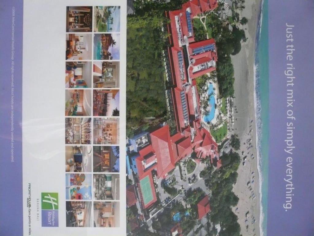 hotel bersicht aushang im hotel bilder sonstiges motiv hotel holiday inn resort baruna bali. Black Bedroom Furniture Sets. Home Design Ideas