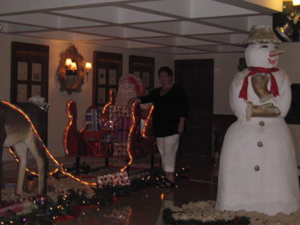 bild weihnachten in der t rkei zu vera verde resort in belek. Black Bedroom Furniture Sets. Home Design Ideas