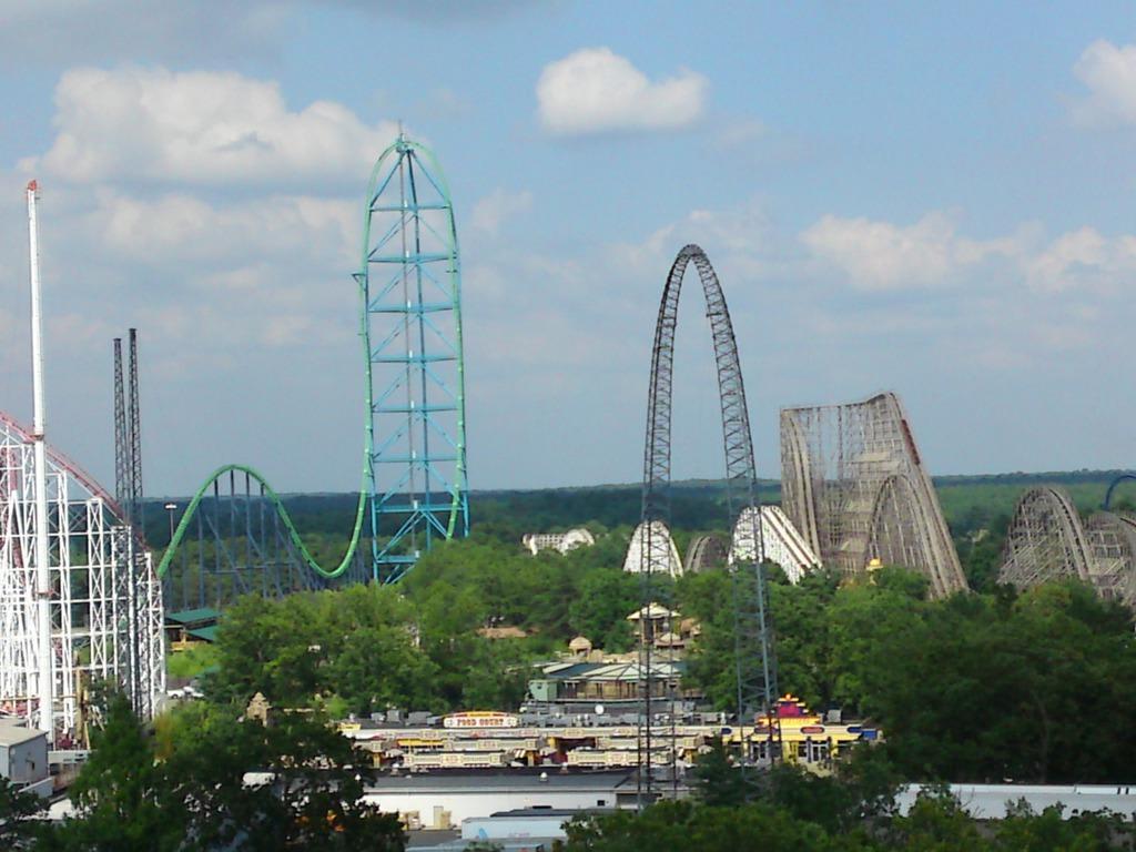 Bild Quot Achterbahnen Quot Zu Six Flags Great Adventure In Jackson