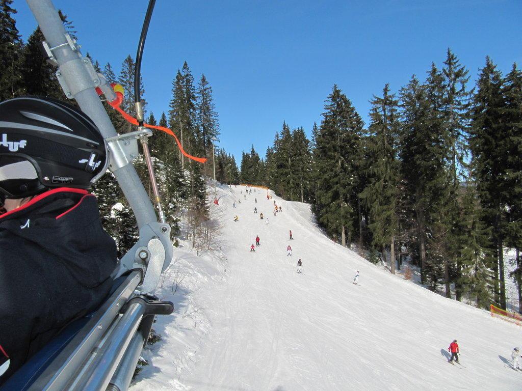 Bild Familienstrecke Zu Skigebiet Grosser Arber In Bodenmais