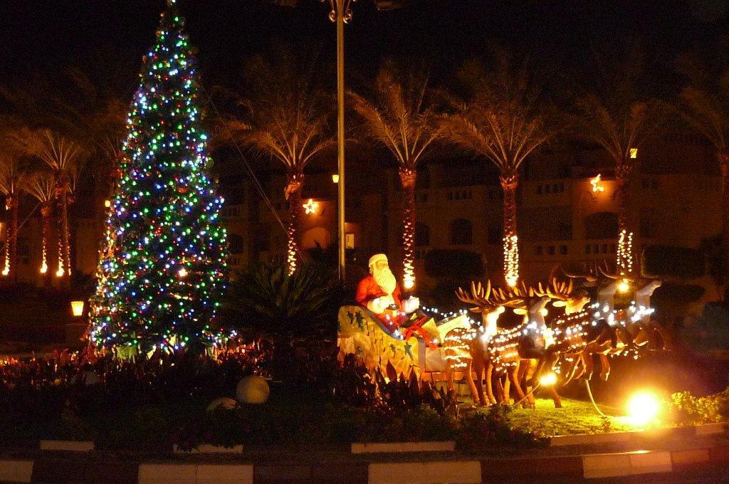 bild weihnachten zu hotel rixos sharm el sheikh in nabq bay. Black Bedroom Furniture Sets. Home Design Ideas