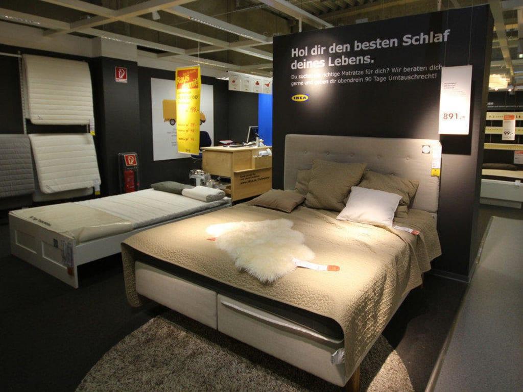 Verkaufsräume Schlafzimmer