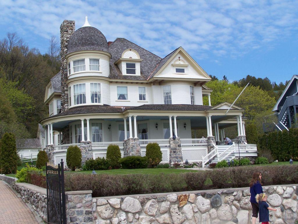 Superb Schöne Häuser Auf Mackinac Island