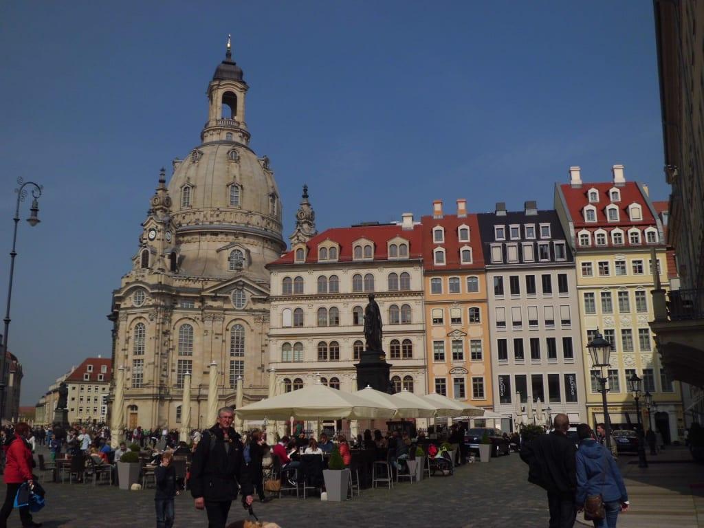 Bild altstadt mit frauenkirche zu altstadt dresden in for Dresden hotel altstadt