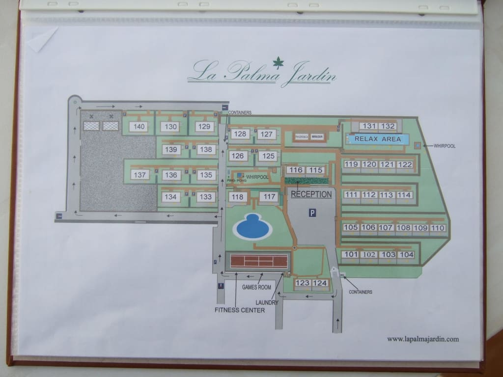 Bild aufteilung der anlage zu hotel la palma jardin in for La palma jardin