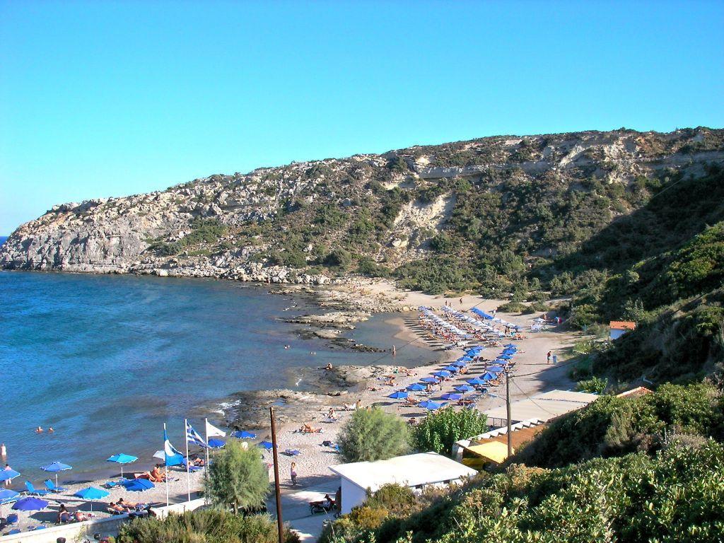 Anthony Quinn beach - Rhodes Beaches