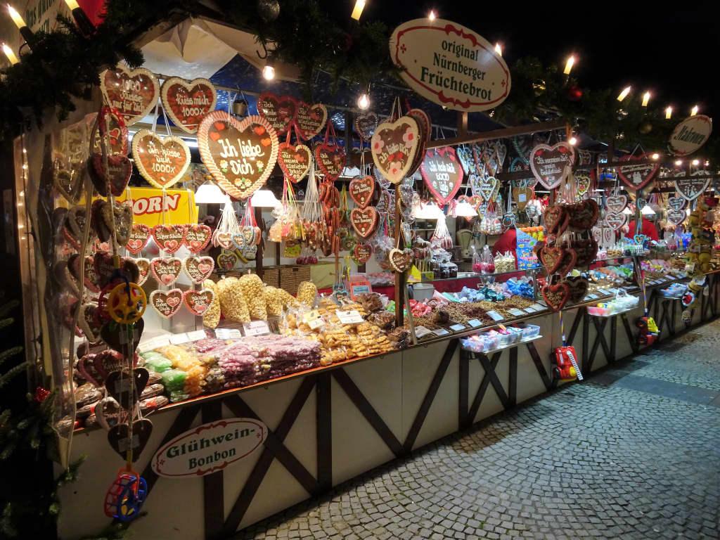 Bamberg Weihnachtsmarkt.Bild Rundgang über Den Bamberger Weihnachtsmarkt Zu Bamberger