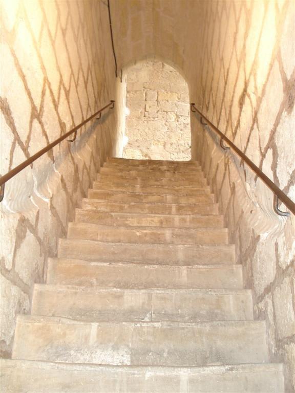 Bild Enge Treppe Zu Schloss Bellver In Palma De Mallorca