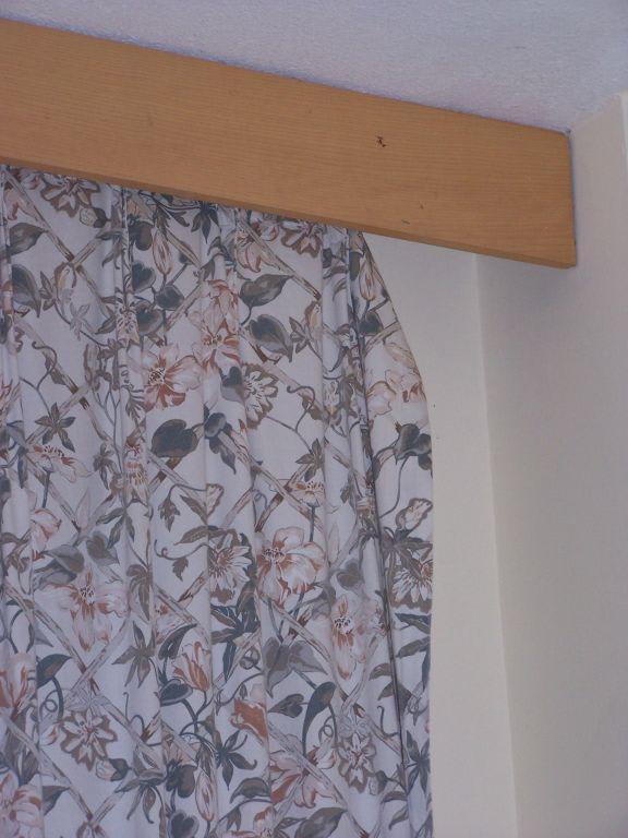 bild t rkische gardinen zu polat thermal hotel in karahayit. Black Bedroom Furniture Sets. Home Design Ideas