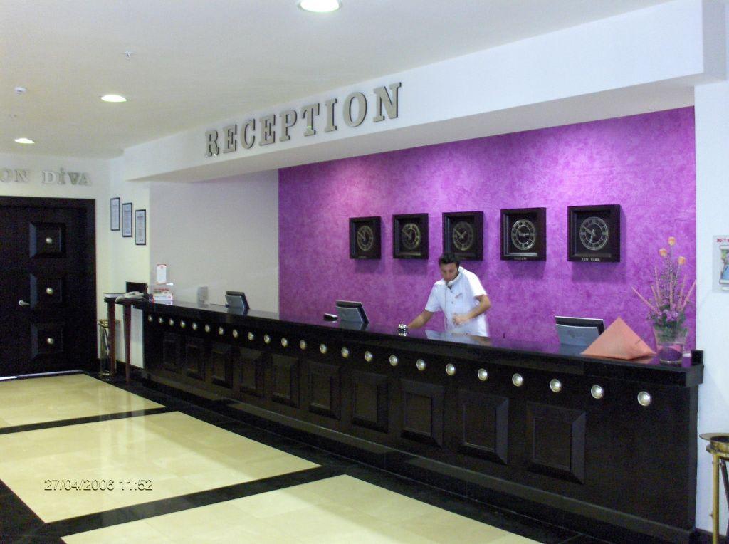 Entrance & lobby - Aska Hotel Buket Resort & Spa